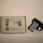 """Газовый пистолет с баллончиком """"БЛИЦ"""" 25 мл,Средство индивидуальной самозащиты аэрозольное 25мл фото"""
