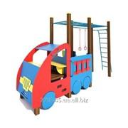Машинка с гимнастическим комплексом InterAtletika TE506 фото