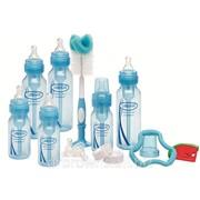 Подарочный комплект из шести станд. синих бутылочек (3 по 240 мл, 3 по 120 мл) фото