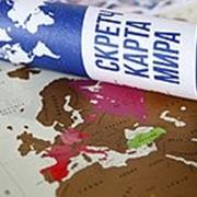 Стиральная карта Мира 58х82 см фото