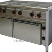 Плита електрична промислова АРМ-ЕКО ПЕ-6Ш нержавійка фото