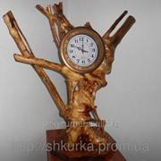 Часы из дерева ЧД 001 фото