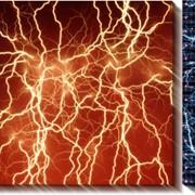 Модульная картина Электричество, Неизвестен фото