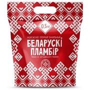Мороженое Беларускi пламбiр с ароматом ванили в полимерном пакете , 500 г, 1000 г фото