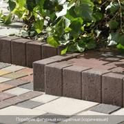 Поребрик, Столбик фигурный квадратный фото