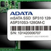 Твердотельный накопитель SSD mSATA A-Data ASP310S3-128GM-C фото