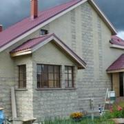 Проект дома из камня фото