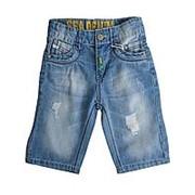 Джинсовые шорты №8663-27086-2 6 фото