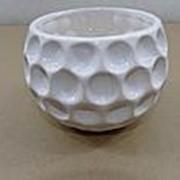 Ваза шар Горох диам. 9 см выс. 9 см керамика фото