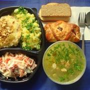 Комплексный обед №4 фото