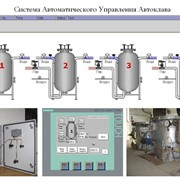 Система автоматизированного управления процессом стерилизации и пастеризации консервов фото