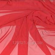Ткань Шифон коралл, арт. 10009329 фото