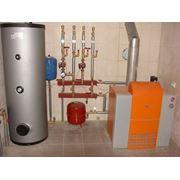Монтаж систем отопления и водоснабжения фото