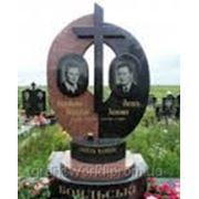 Памятники двойные (Образцы №414) фото