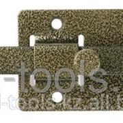 Задвижка накладная ЗД-06для дверей усиленная, порошковое покрытие, цвет бронза, квадратный засов 15х145х15мм Код:37788-6 фото