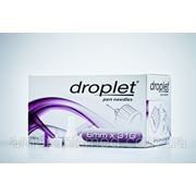 Иголки для инсулиновых шприц-ручек Дроплет Универ. 6мм №100 фото