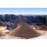 Продажа и доставка строительных материалов — асфальт, гравий фр. 3-20, песок 1 и 2 класс, смеси С-12, С-4. фото
