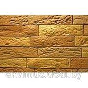 Камень облицовочный Stone Groove Кирпичик тонкий фото