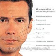 Заполнение морщин гиалуроновой кислотой (гелем). Уход за мужской кожей фото
