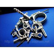 Хомут (обойма) 10 типоразмеров 10-63 mm для крепления труб и кабелей,быстрый монтаж,с ударным шурупом фото