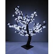Дерево «сакура» LED-196 белое (80 см. ) фото