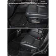 Коврик BMW 5 (E60) 3D Royal Magic Mat борт. Черный фото