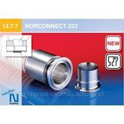 Прессованная соединительная часть для внешне гофрированных спиральных шлангов NORCONNECT 232 фото