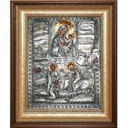 Тихвинская икона с изображением явления Пресвятой Богородицы пономарю Георгию фото