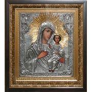 Смоленская икона Божьей Матери золотой венец фото