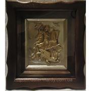 Георгий Победоносец , иконы с позолотой фото