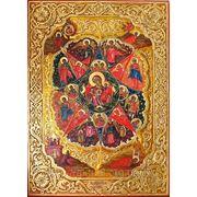 Писаная Икона «Неопалимая Купина» фото