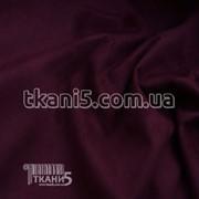 Ткань Стрейч замш плотный (марсала) 5228 фото