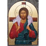 Икона «Иисус Христос» (Византия) фото