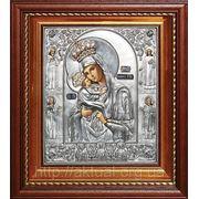 Икона Богоматерь Почаевская c предстоящими святыми фото