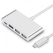 USB хаб Type C - 3 USB выхода + Charger Type С фото