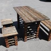 Деревянная мебель для сада, дома дачи, бани и сауны Код: ST/TS*K1270-1458 фото