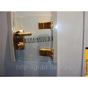 Фурнитура для стеклянных дверей, дверные ручки фото
