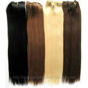 Волосы славянские на полимере (ленточное наращивание) блонд фото