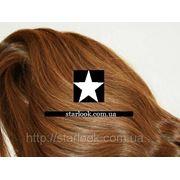 Набор натуральных волос на клипсах 52 см. Оттенок №9. Масса: 130 грамм. фото