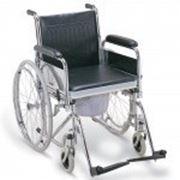 Инвалидная коляска с судном FS681 фото