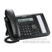 IP-телефон Panasonic KX-UT133RU-B Black фото