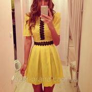 Платье вышивка короткое фото