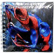 Блокнот 16*16см 80л Kite Spider-Man SM12-220K на спирали фото