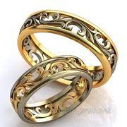 Обручальные кольца под заказ фото
