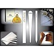 Изготовление, печать блоттеров для парфюмерии с логотипом заказчика фото