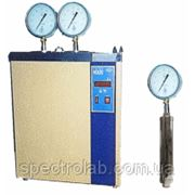 Аппарат ДНПБ для определения давления насыщенных паров бензина с 2- мя бомбами фото
