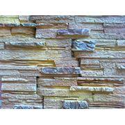 Искусственный камень гипсовый Европа 30 прямой ( 0,4 м2 ) фото