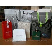 Пакеты бумажные для ювелирной продукции фото