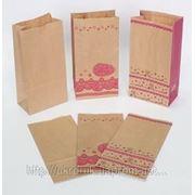 Пакеты бумажные без ручек (крафт пакеты) под заказ фото