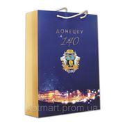 """Бумажный пакет, сумка """"Донецку 140"""" фото"""